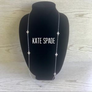 "Kate Spade New York 17"" Silver Tone Necklace"